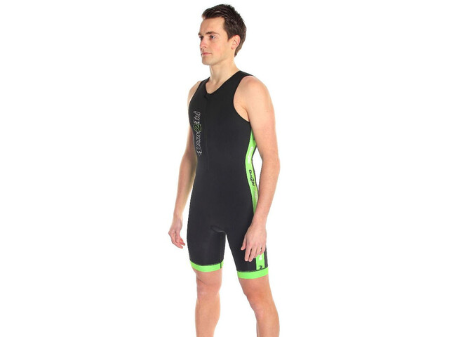 Dare2Tri Coldmax Strój triathlonowy Mężczyźni, black/green